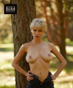 Anna Lucos Nude And Busty In The Park