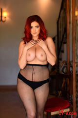 Lucy V Is One Hot Redhead