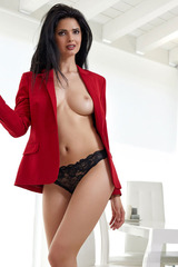 Jasmine Andreas Nude At The Office