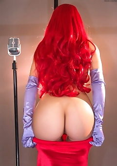 Katie Banks As Jessica Rabbit